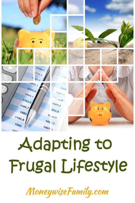 Adapting to a frugal lifestyle
