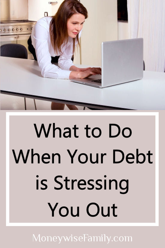 What to do when your debt is stressing you out