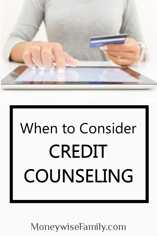 When to Consider Finance Credit Counseling-pin